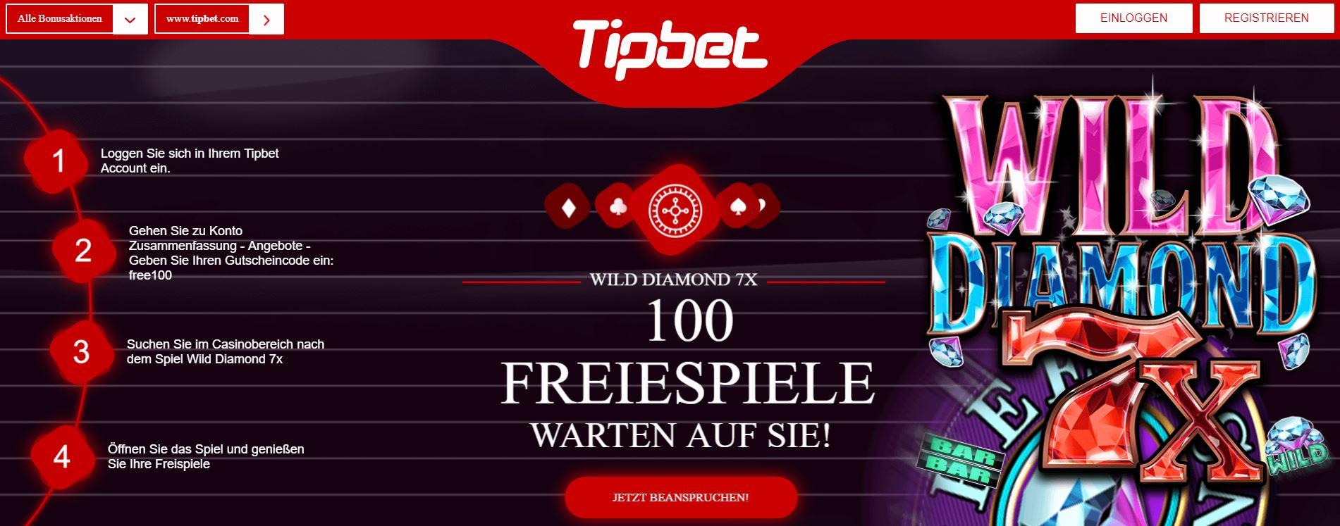 tipbet freespins
