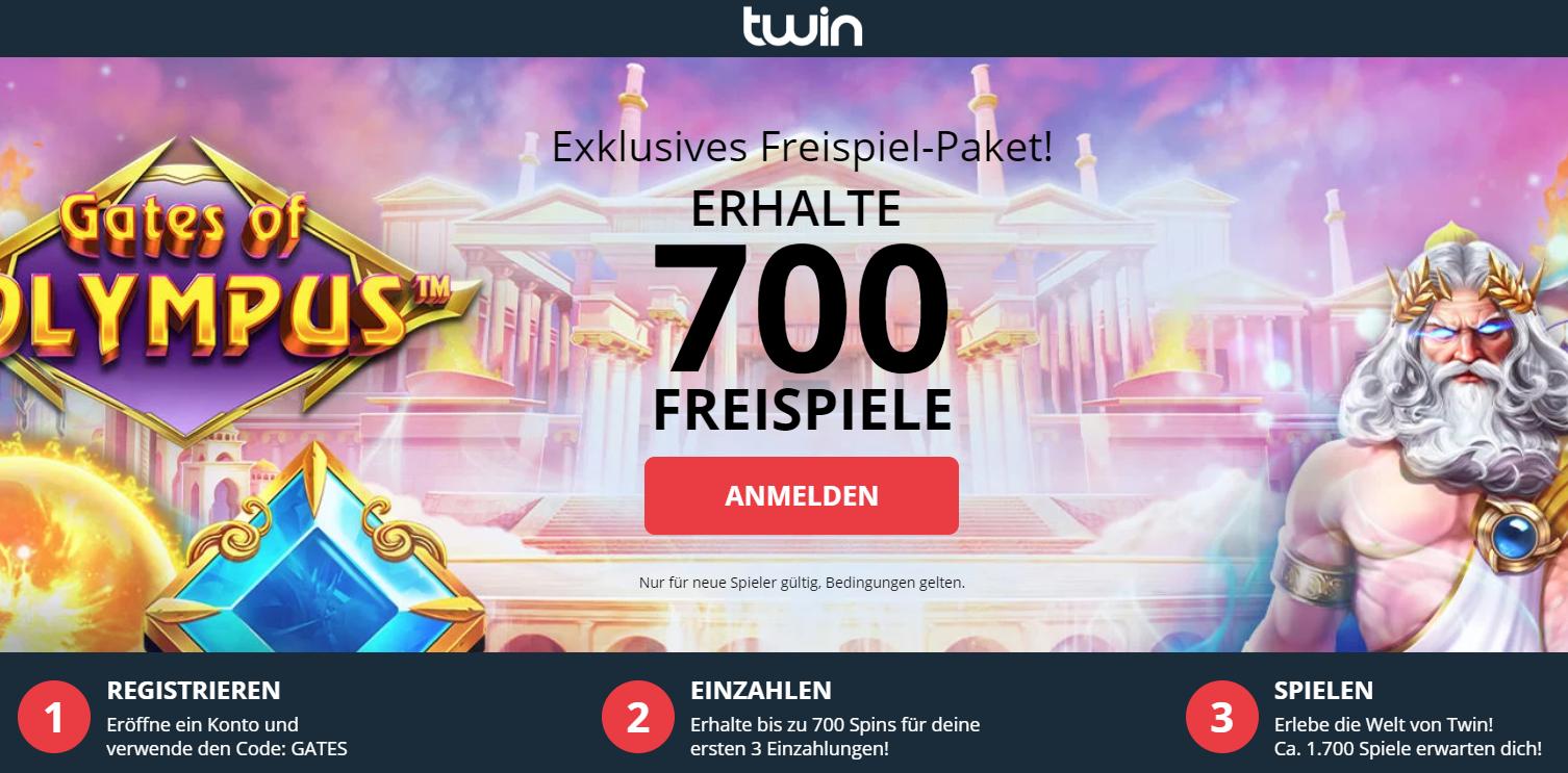 Twin 700 Freespins