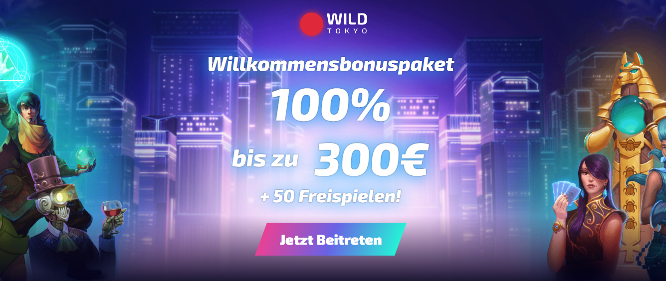 Wildtokyo Freespins