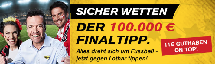 Interwetten 11€ Freiwette