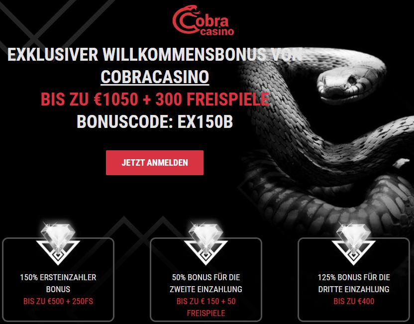 Cobracasino Freespins