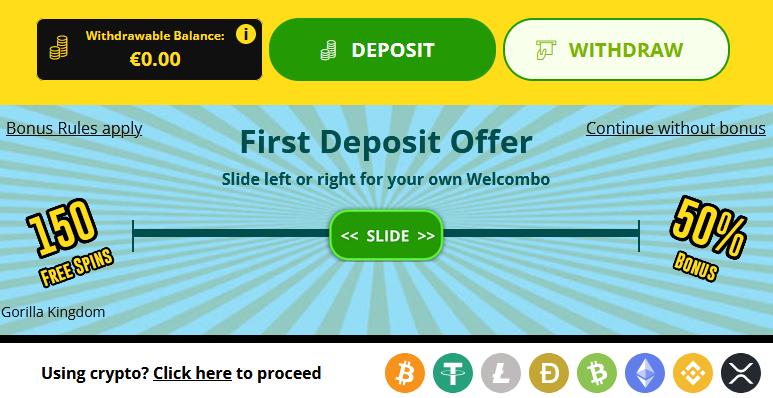 Crypto bei Whamoo